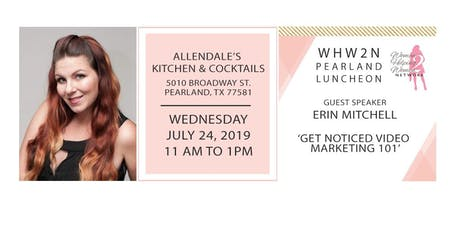 WHW2N Pearland lunch with Special Speaker Offer tickets