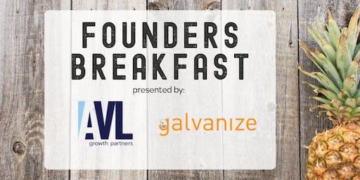Galvanize Founders Breakfast