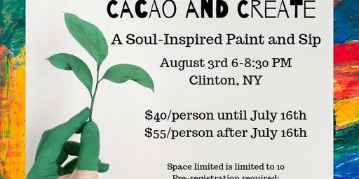 Cacao and Create: A Soul Inspired Pain and Sip