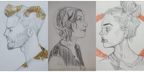 Portrait Life Drawing Class with Model @little_pink_dog tickets