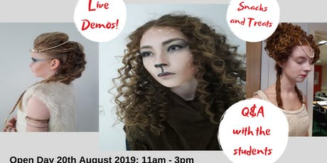 Study Hairdressing Open Event tickets