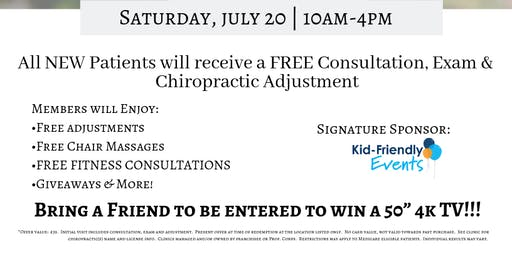 The Joint Chiropractic Patient Appreciation Event