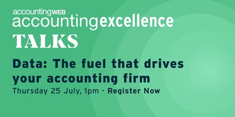 Importance of data in Modern accountancy - Accounting Excellence WEBCAST tickets