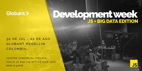 Development Week Edición Medellín: JS + Big Data Tickets