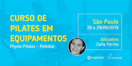 Curso de Pilates em Equipamentos - Physio Pilates Polestar - São Paulo