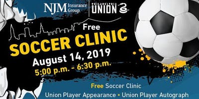Free Soccer Clinic with Philadelphia Union