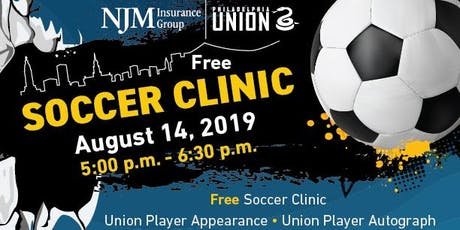 Free Soccer Clinic with Philadelphia Union tickets