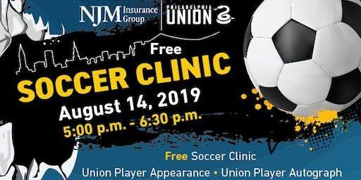 Free Soccer Clinic with Philadelphia Union