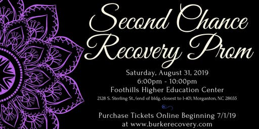 Burke Recovery's Second Chance Recovery Prom
