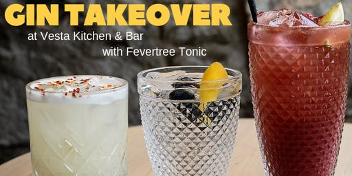 Vesta Bar & Kitchen Gin Takeover