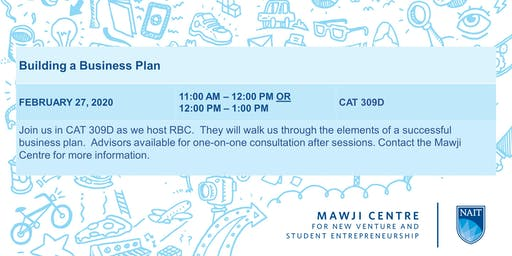 Ain't No Plan Like a Business Plan - Session 1