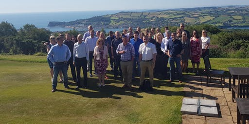 South Devon Business Club -September Meeting - Teignmouth Golf Club, Haldon
