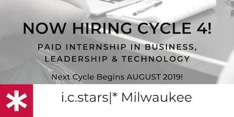 i.c. stars * Milwaukee Information Sessions tickets