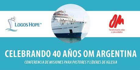 Celebrando 40 a´ños de OM Argentina entradas