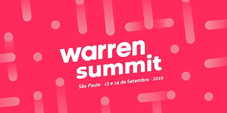Warren Summit 2019 ingressos