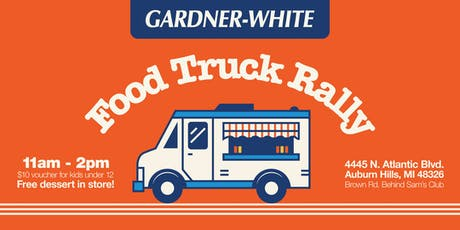 Gardner-White Food Truck Rally tickets