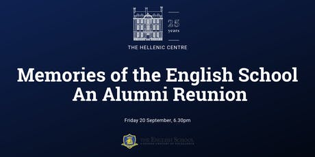 Memories of the English School. An Alumni Reunion tickets