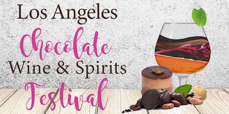 LA CHOCOLATE, WINE & SPIRITS FESTIVAL   SEPTEMBER 21& 22, 2019 tickets