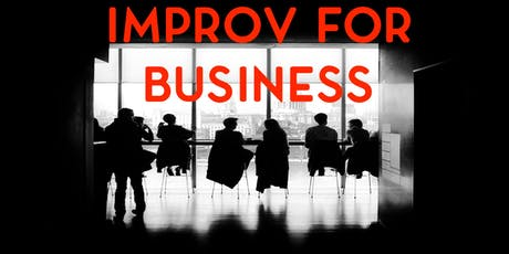 Improv for Business tickets