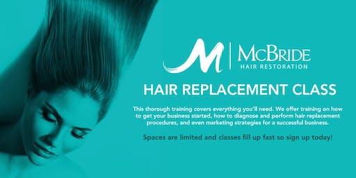 Hair Replacement Class