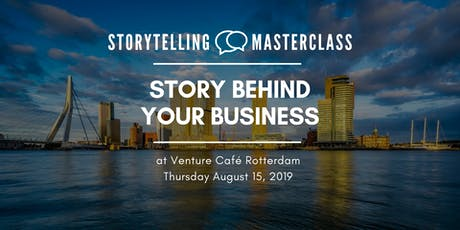 Storytelling Master Class -  Story Behind Your Business tickets