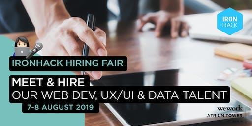 Ironhack Hiring Fair - Meet & Hire the next Tech Talents!