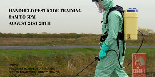 Handheld Pesticide Training