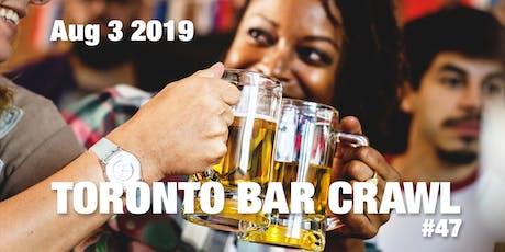 Toronto Bar Crawl #47 tickets