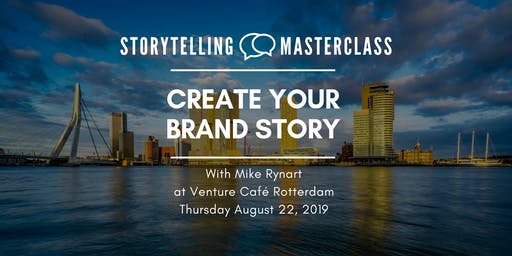 Storytelling Master Class - Create your Brand Story