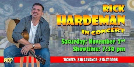 Rick Hardeman tickets