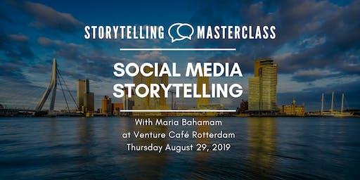 Storytelling Master Class -  Social Media Storytelling