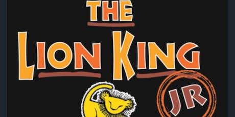 Disney's Lion King Jr. tickets