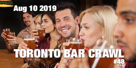 Toronto Bar Crawl #48 tickets