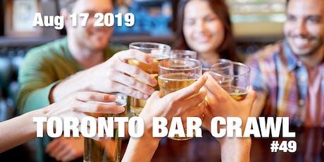 Toronto Bar Crawl #49 tickets