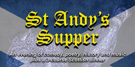 St Andy's Supper tickets
