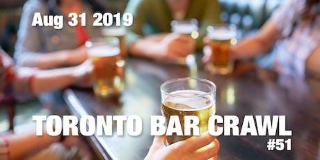 Toronto Bar Crawl #51 tickets