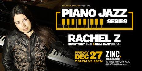 Piano Jazz Series: Rachel Z Trio tickets