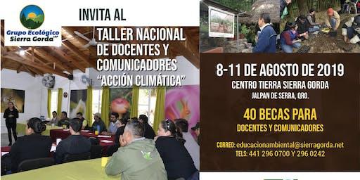 """Taller Nacional """"Acción Climática"""" para Docentes y Comunicadores"""