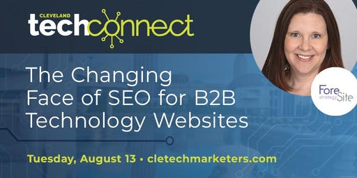 The Changing Face of SEO for B2B Technology Websites