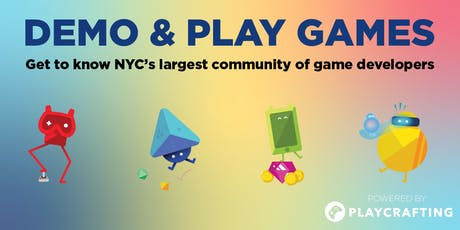Demo & Play Games tickets