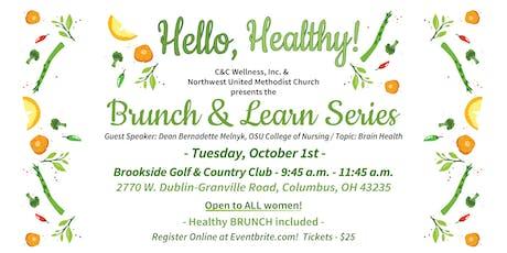 Mental Health and Brain Health Brunch & Learn tickets