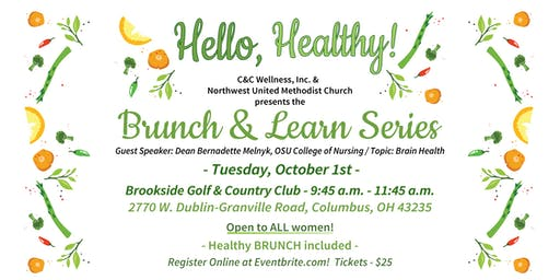 Mental Health and Brain Health Brunch & Learn