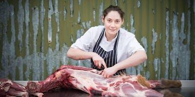 Wild Scottish venison butchery