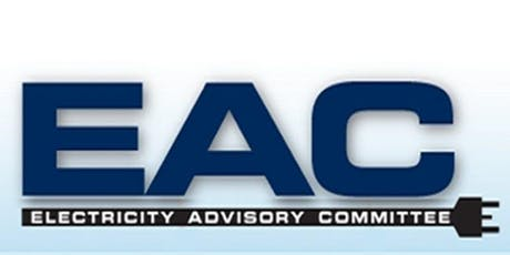Electricity Advisory Committee Meeting - October 2019 tickets