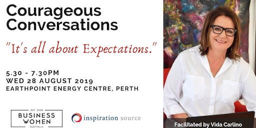 Perth Business Women Australia - Courageous Conversations: Great Expectations