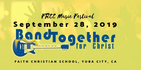 Band Together for Christ Music Festival tickets
