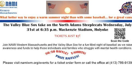 NAMI Night with the Valley Blue Sox tickets