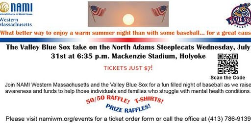 NAMI Night with the Valley Blue Sox
