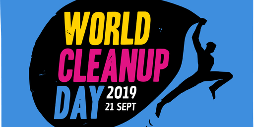 World cleanup day U1 Donauinsel