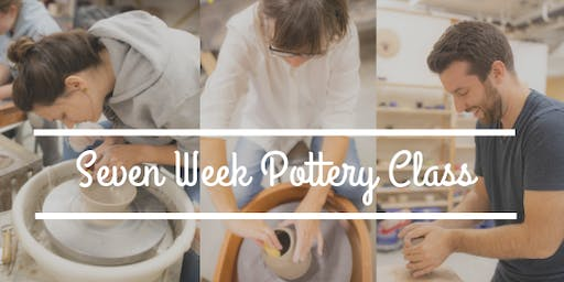 Pottery Wheel Throwing Class: 7 weeks (Sunday September 8th-October 20th) 10 am-1230 pm